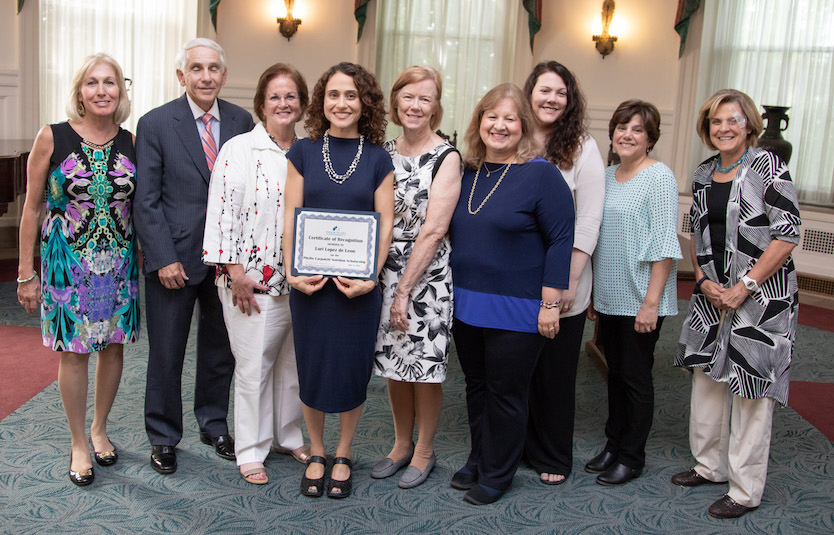 Lori Lopez de Leon Receives Phyllis Carpoletti Nutrition Scholarship at Immaculata University